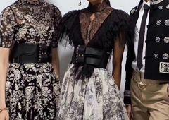 6378 Baroque Runway 2019 PU Leather Waist Wide Belt Size S, L, M