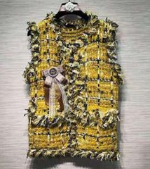 6462 Runway 2019 2 Colors Tweed Chic Vest