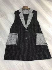 6585 New-Yorker Tweed Blend Stylish Vest