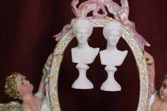 6879 Aphrodite Roman Bust Studs Earrings