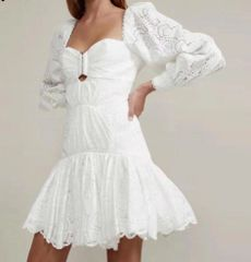 6963 Runway 2020 Designer Inspired 2 Colors Lace Bustier Mini Dress