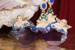 7162 Baroque Raphael Cherubs Angels Clouds Embellished Sunglasses