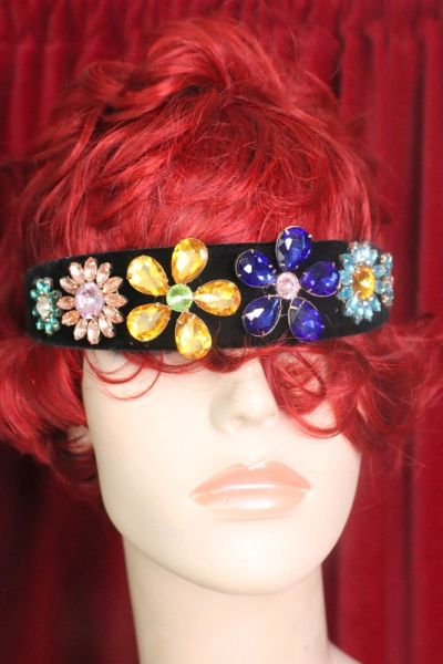 7483 Baroque Crystal Flower Elegant Headband