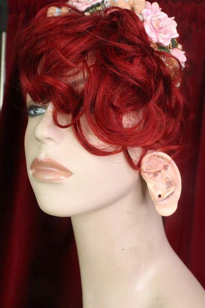 7591 Unusual Weird Ear Hand Painted Earring