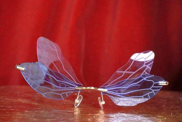 7930 Art Nouveau Dragonfly Wings Sunglasses