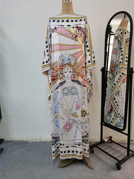 7936 Runway 2020 Baroque Abaya Caftan Dress