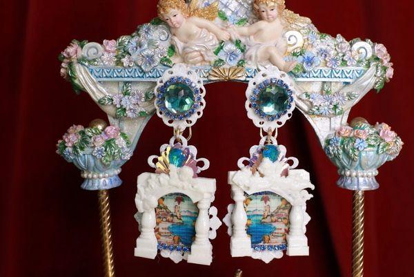 8567 Baroque Taormina Column Studs Earrings