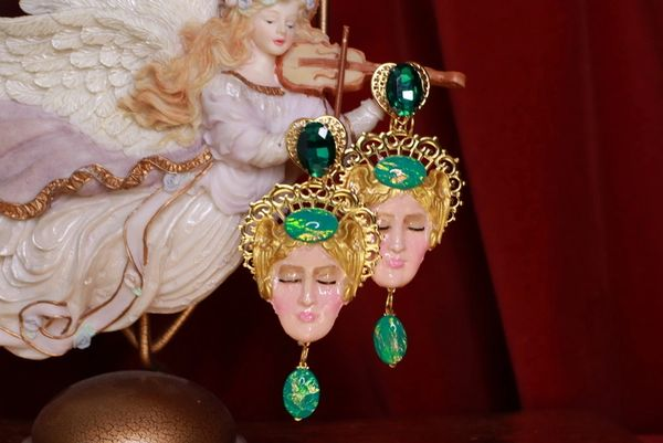 8710 Aphrodite Massive Light Weight Studs Earrings
