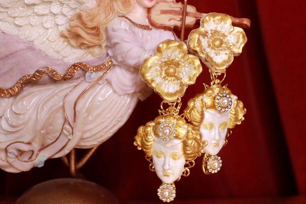 8712 Aphrodite Massive Light Weight Studs Earrings