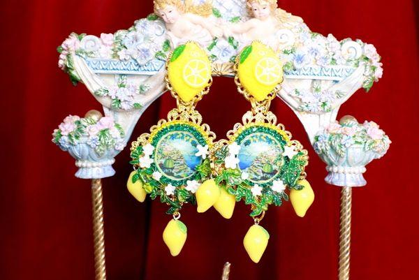 8738 Baroque Taormina Cameo Studs Earrings