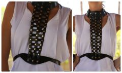 1122 Designer Inspired Slave Fancy Belt