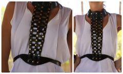 1122 Designer Inspired Slave Fancy Belt