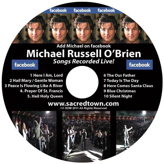 Michael Russell O'Brien - Songs Recorded Live! - CD