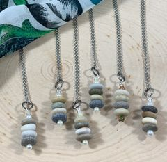 Stone Stacked Necklace