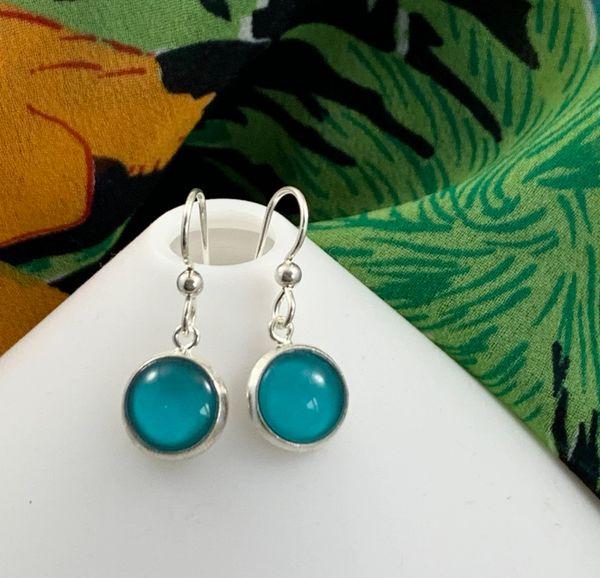 Glass Dangle Petite Earrings - EGDP