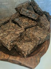 African Black Soap by the slice