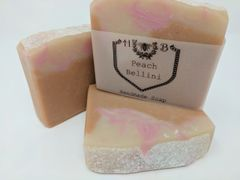 Peach Bellini Handmade Soap