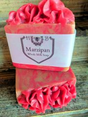 Marizipan Scented Whole Milk Soap