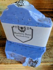 Blueberry Burst Handmade Soap