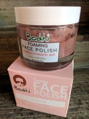 Bodhi Foaming Face Polish with Rose Hip and Volcanic Ash
