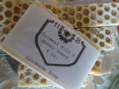 Oatmeal Milk and Honey Scented Handmade Soap