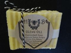Unscented Extra Virgin Olive Oil Soap