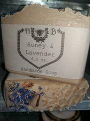 Honey and Lavender Milk Soap