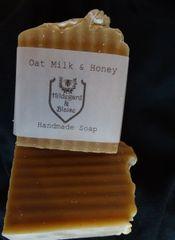 Oat Milk Honey Scented Soap