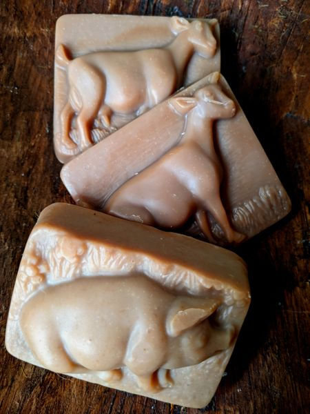 Goat Milk Soap - 3 Scents and 4 shapes to choose from