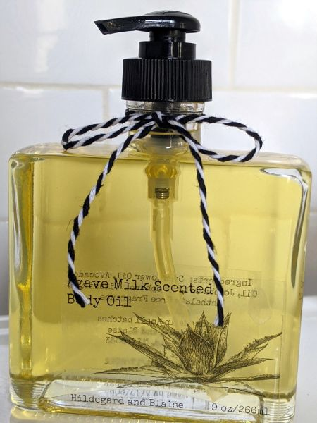 Agave Milk Scented Body Oil