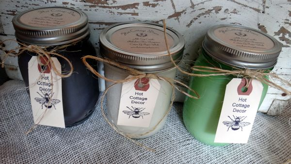 Premium Custom Fragrance Blend Mason Jar Candles (Limited)