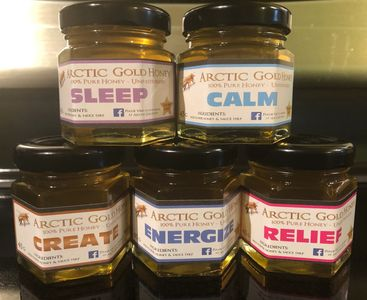 Medical Terpenes Infused Raw Honey