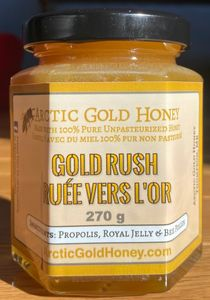 Raw Honey with Propolis Royal Jelly Bee Pollen