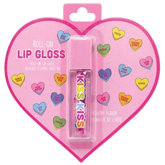 Floating Hearts Roll-On Lip Gloss