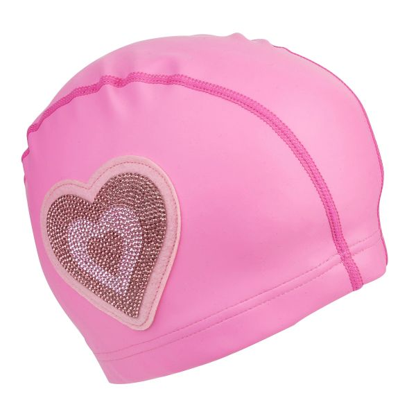 Neon Heart Swim Cap - Bling2o