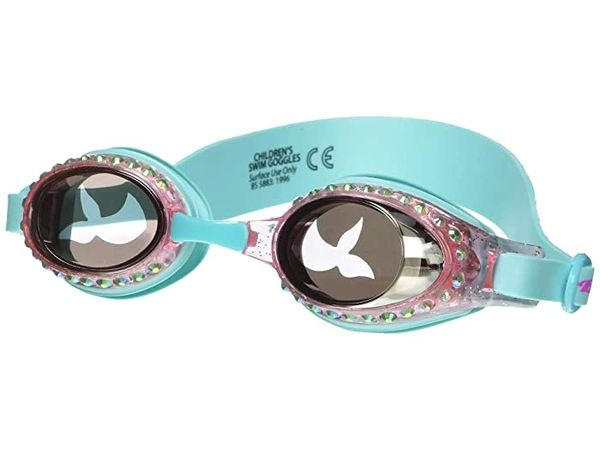 Jewel Mermaid Classic Swim Goggles - Bling2o