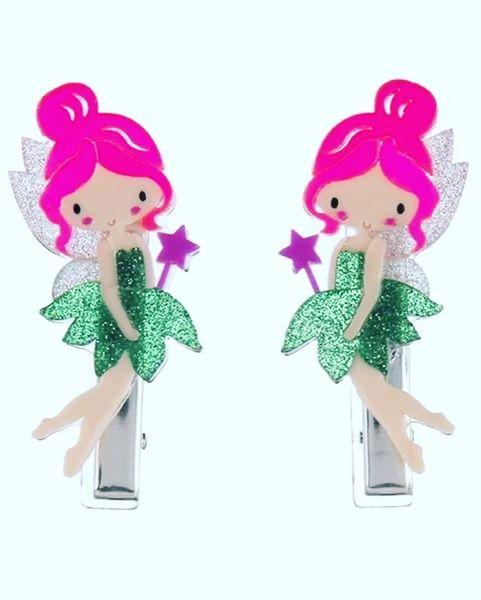 Fairies Hair Clips - Lilies & Roses