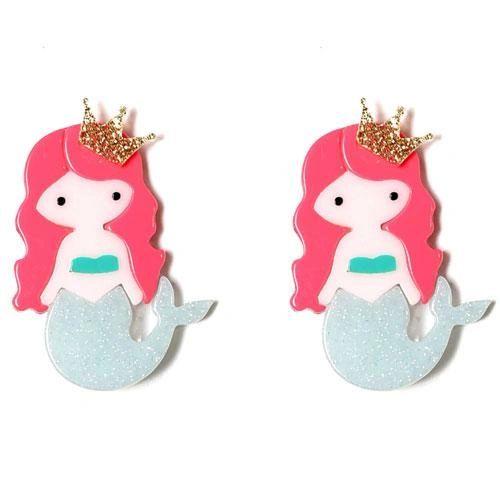 Mermaid Hair Clips - Lilies & Roses