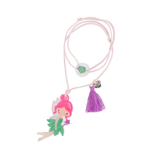 Fairy Necklace - Lilies & Roses