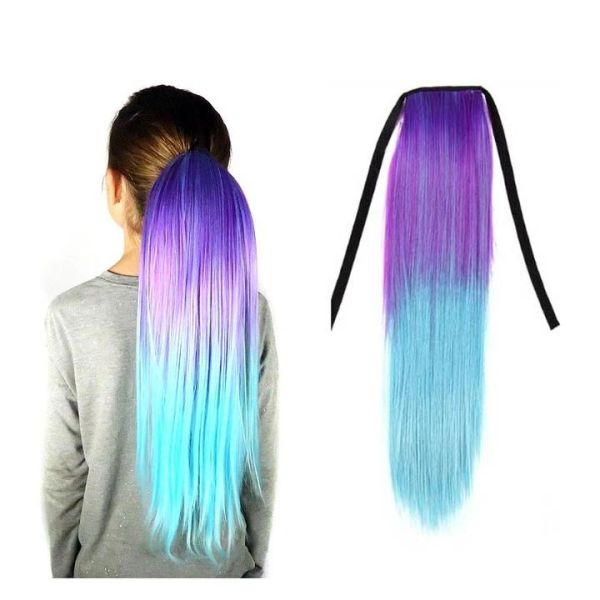 Straight Ombré Ponytail Hair Extensions - Magic Manes - SOLD OUT!