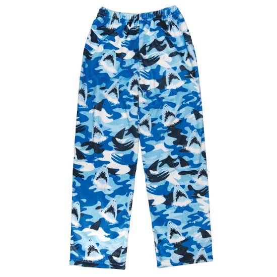 Sharks Plush Pants