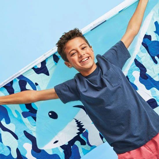 Sharks Towel Backpack