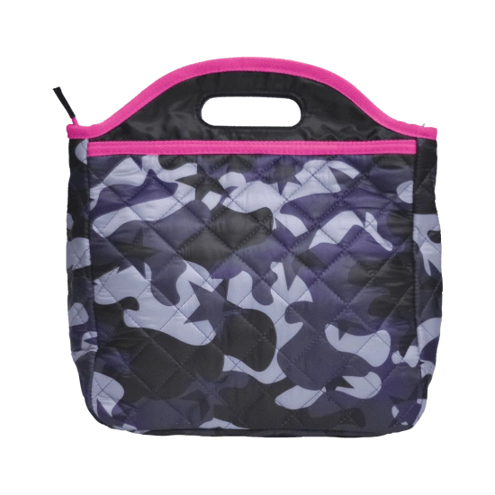 Midnight Blue Camo Lunch Tote