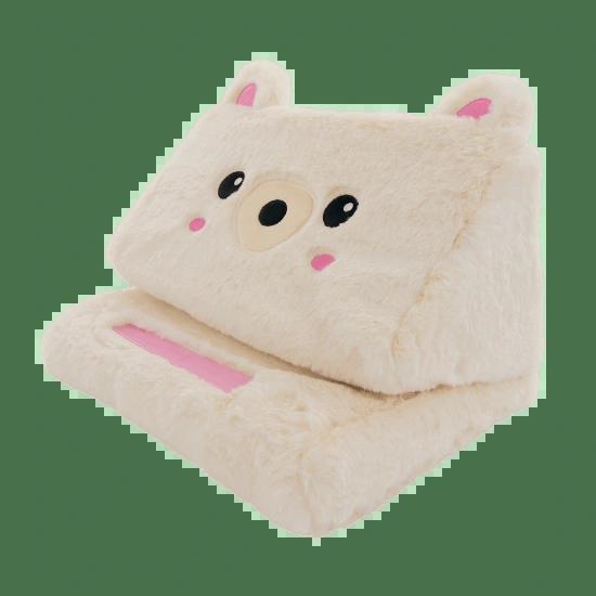 Bear Furry Tablet Pillow