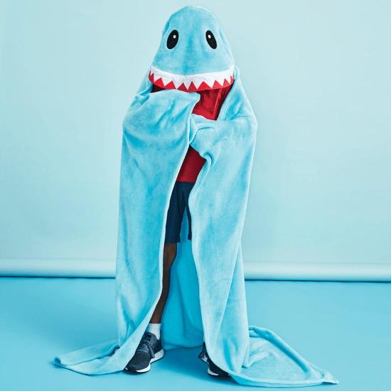 Shark Hooded Blanket