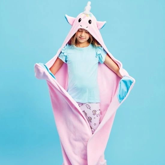 Unicorn Hooded Blanket - SOLD OUT!