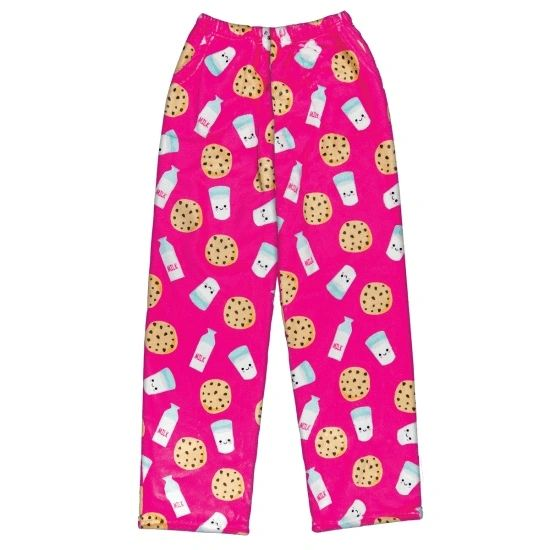 Milk and Cookies Plush Pants