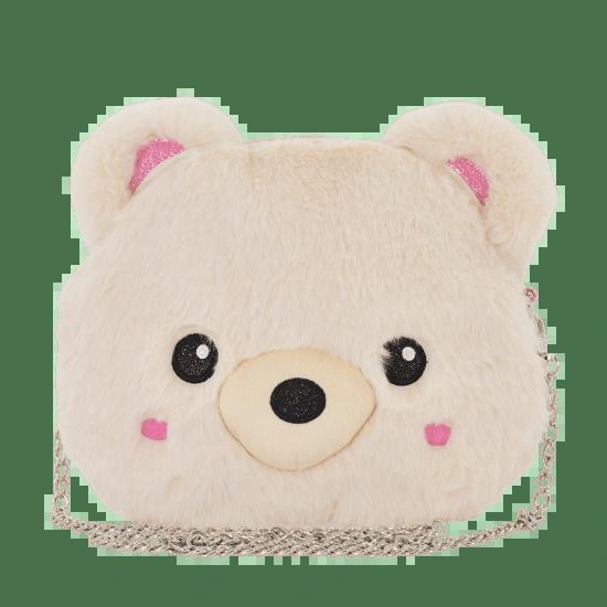 Bear Furry Crossbody Bag