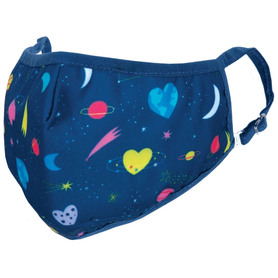 Heart Space Face Mask