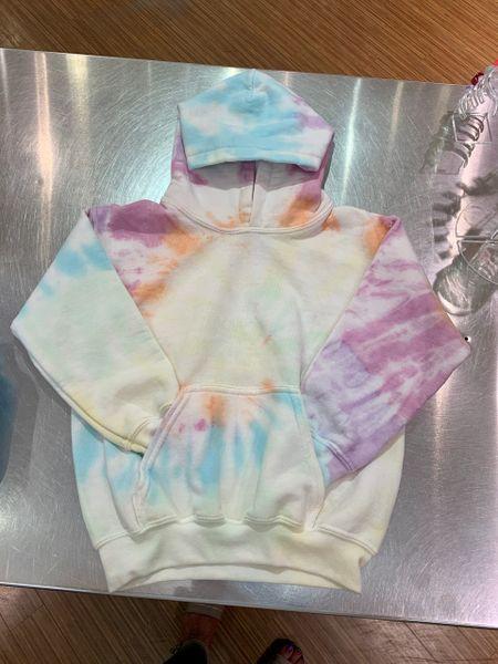 Pastel Tie Dye Hoodie - SOLD OUT!